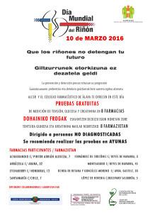 dia mundial del riñon 2016